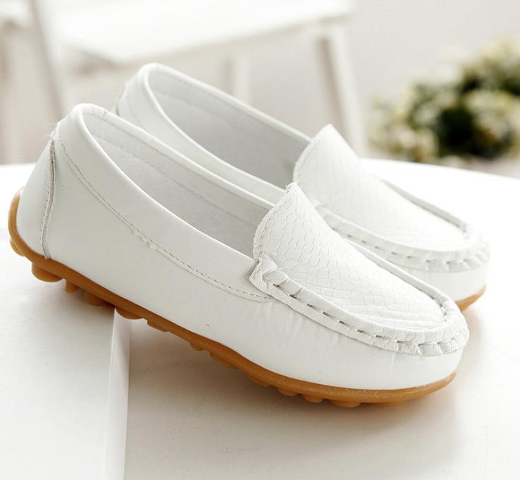 男童童鞋亲子单鞋宝宝中儿童豆豆鞋小孩子皮鞋公主单鞋女大童皮鞋