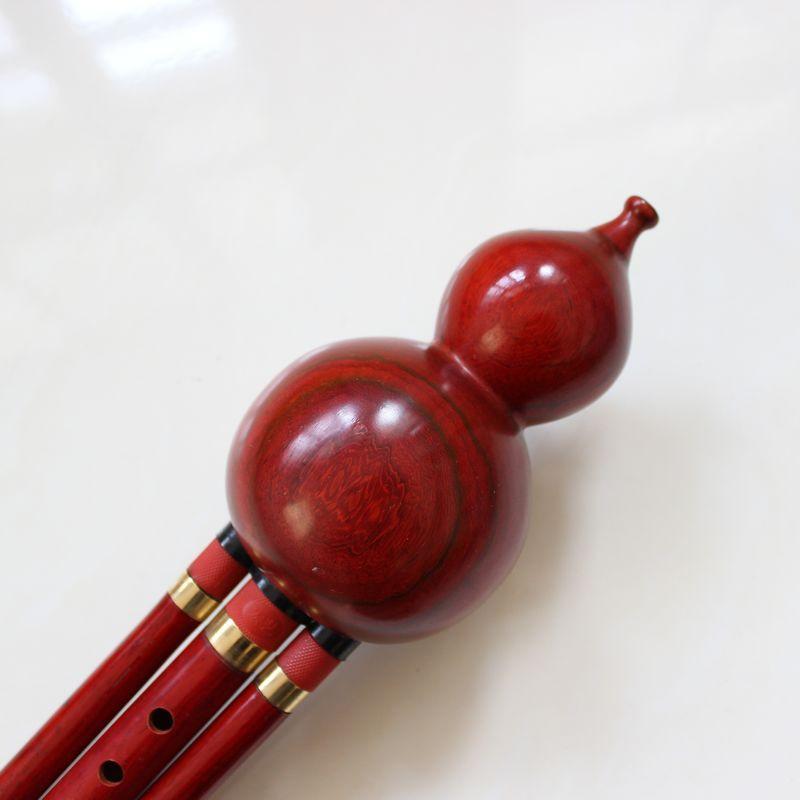 La venta directa de la fábrica de tres tonos caoba hulusi bemol C patente de Reed de aseguramiento de la calidad