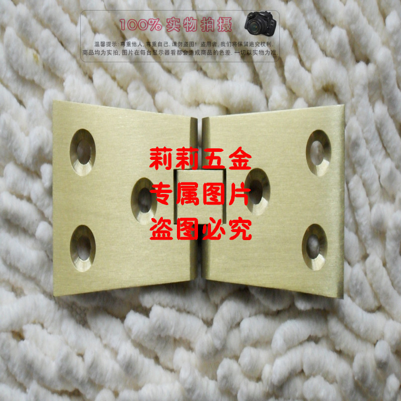 Thickening type, full copper plate hinge, table hinge, table type hinge, round table hinge, folding hinge