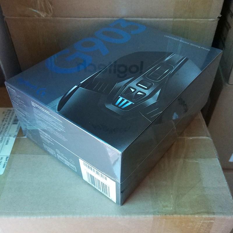 Der dual - mode - Gaming - Maus - 903 programmierbaren mechanischen tasten ein hühnchen - RGB - Bunte Maus