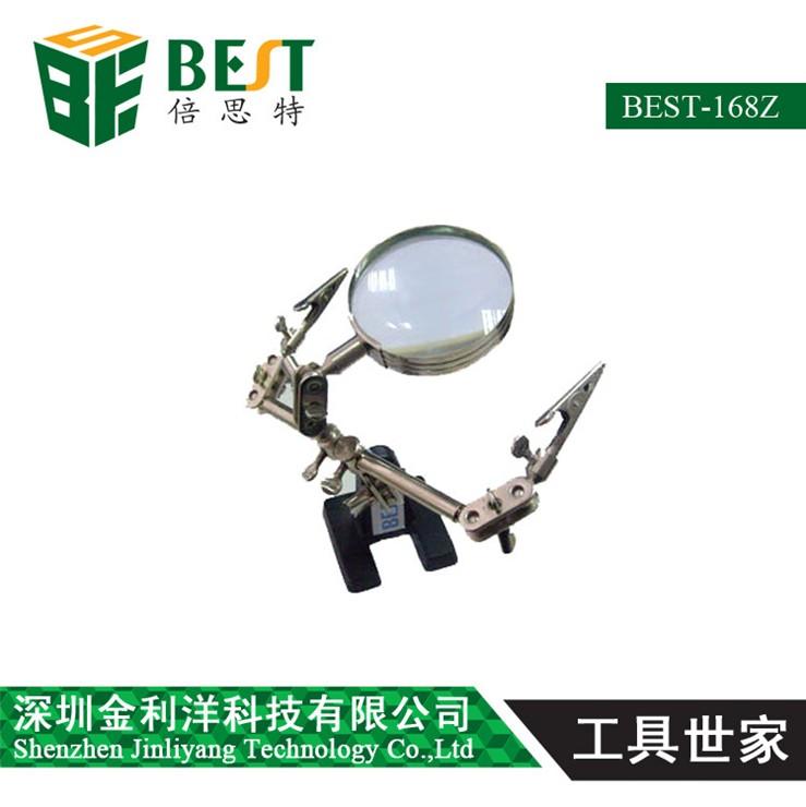 Bes / mantenimiento de la electrónica beiste lupa por marco pinzas lupa ampliador de escritorio BST168Z