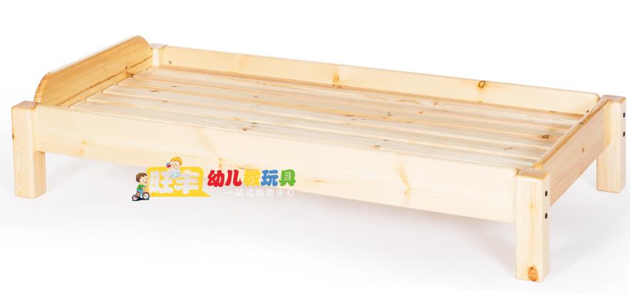 Yu Cai reforzar la cama de madera de pino de la infancia los niños de jardín de infantes en la cama de las sábanas de la cama cama cama pequeña siesta