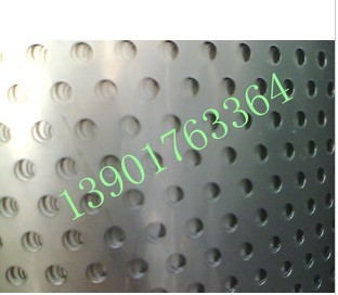 Stainless steel punching plate / hole board / perforated plate / mesh plate 3041.0mmX aperture 10mmX20mm