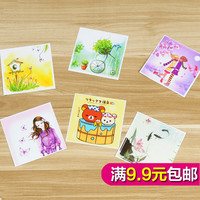 Cute cartoon stickers creative power switch decorative wall switch socket decorative wall stickers affixed to switch