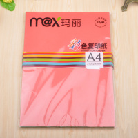 Marie A4 color color copy paper 80g office color paper printing cardboard origami 90 / bag