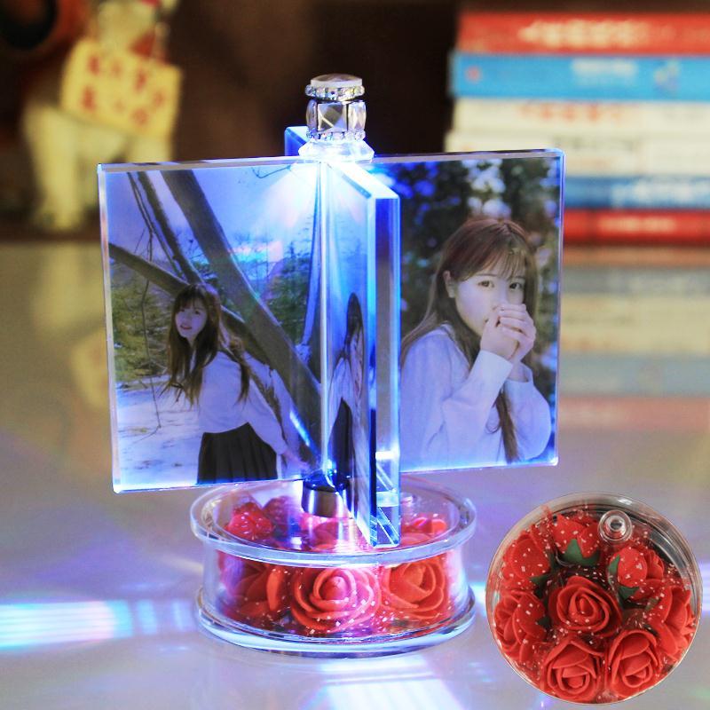 romantično darilo za obletnico. žena je darilo za rojstni dan za navadne par fotografij obrti.