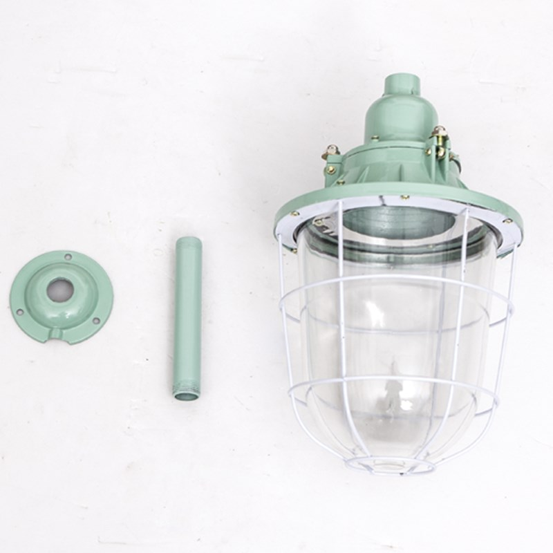Explosion proof lampshade, flameproof LED bulb, 250W workshop, gas station, warehouse, underground channel light