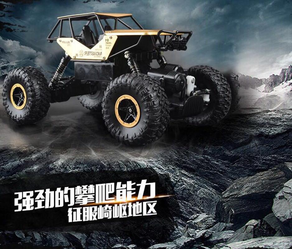 Die neue liste spielzeug - Elektro - / ferngesteuertes auto klettern Junge 2.4g offroad - Bigfoot Drift - geschenk