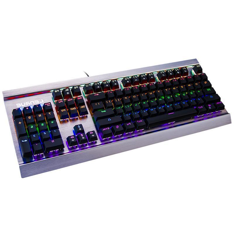 uus mäng mehaanilised lülitid on must - roheline suuna tallitüdruk sülearvuti on ühendatud metallist valgust.