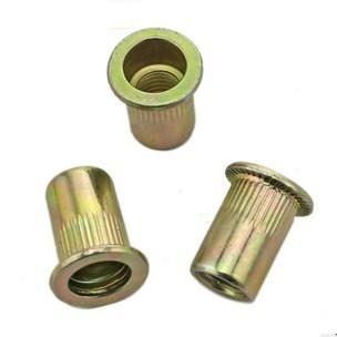 Positive product guarantee / flat head riveting nut / flat head striped riveting riveting / nut hobbing nut M3 to M16