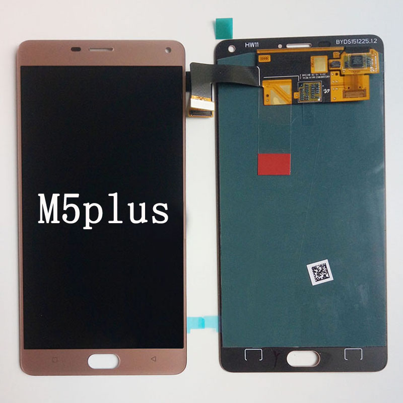 Plus display assembly for GN8001 Jin m5m3 LCD assembly with box shell screen mobile phone M5