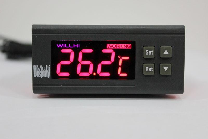 数显 지능 온도 제어 장치, 파충류 온도 제어 장치, 냉각 시스템 뜨거운 양방향 정온 통제 WH7016H+