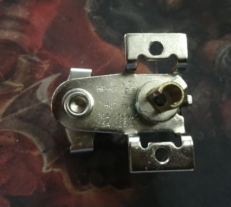 일반 전기 기름 작은 섬 전기 히터 온도 조절 장치 가정용 난방기 부품 수리 온도 제어 스위치