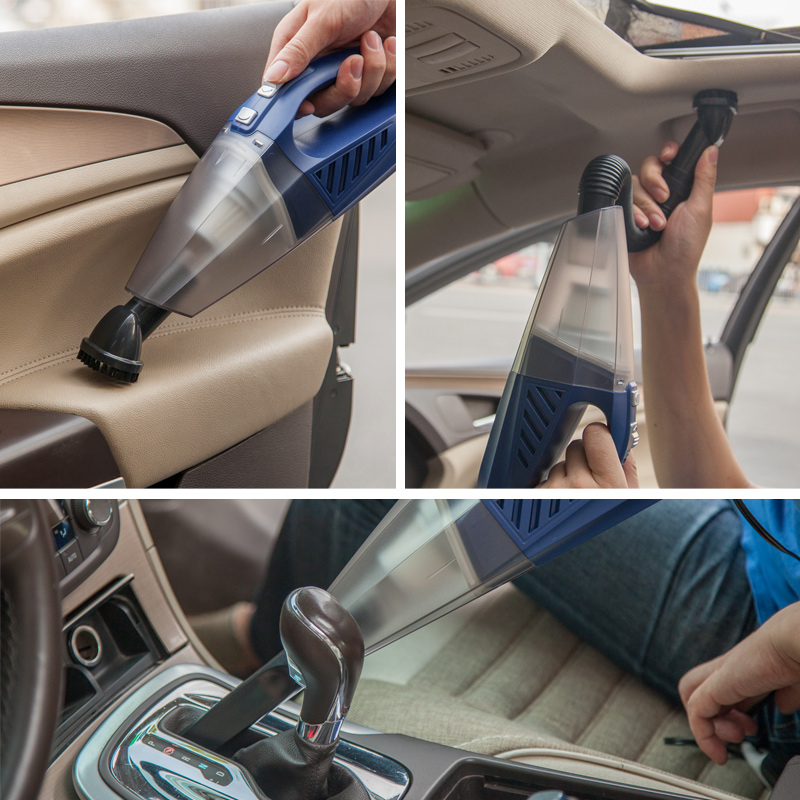 превозно средство, прахосмукачка за сухо и мокро колата на домакински силен 12v четири голяма мощност на превозното средство, като помпа.