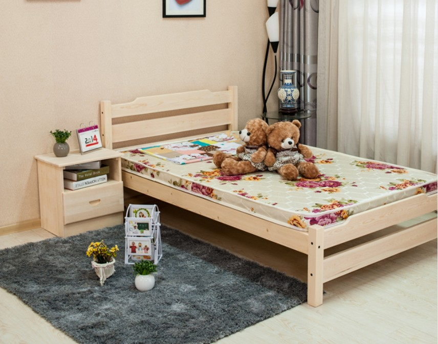 Shipping special offer solid wood bed loose bed adult bed single bed double bed children bed 1.21.51.8