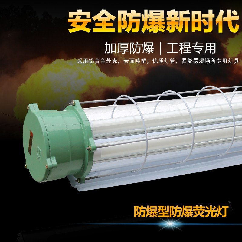 LED explosion proof lamp, fluorescent lamp, explosion proof warehouse, ceiling lamp, three proof lamp, fluorescent lamp, double tube 40W