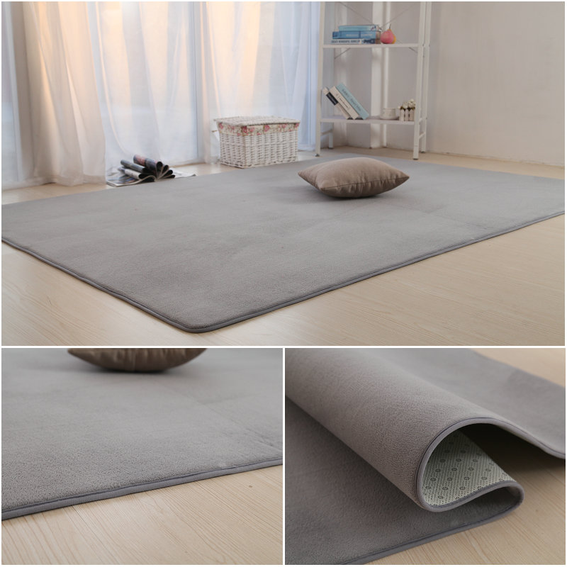 Home bedroom living room coffee table bed tatami mats Piaochuang study basketball thickened seat carpet