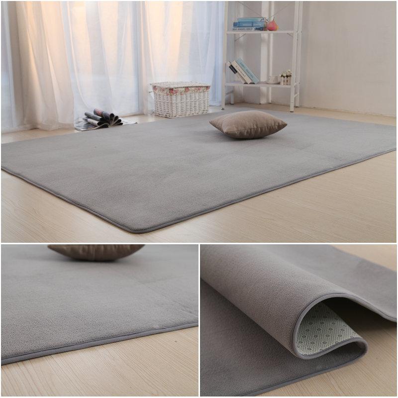 The living room bedroom bedside carpet blanket rectangular table mats mats on household hair color tatami