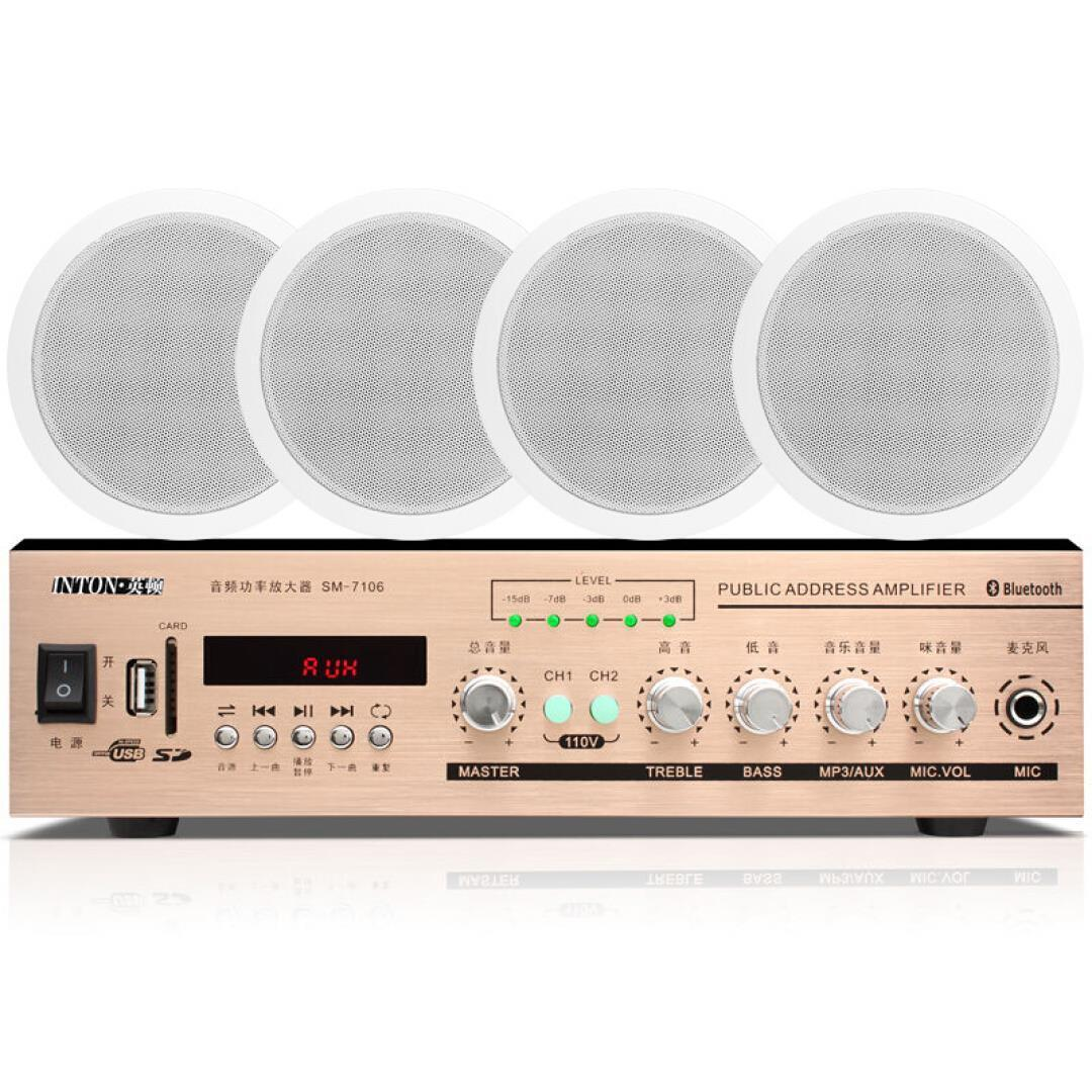 A constante pressão de tetO tetO tetO Alto - falante amplificador de potência Sonora, música de Fundo, SOM caixa de SOM potência de resistência constante.