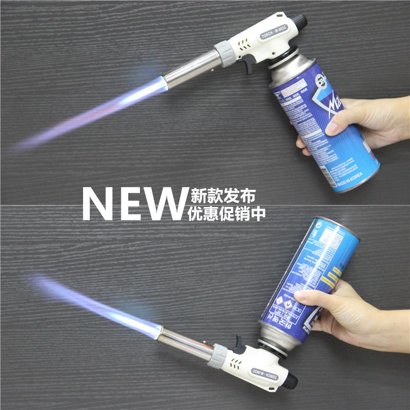 высокотемпературный факел портативный бутан газ пульверизатор огнедышащий пистолет пульверизатор открытый мангалы воспламенителей плита