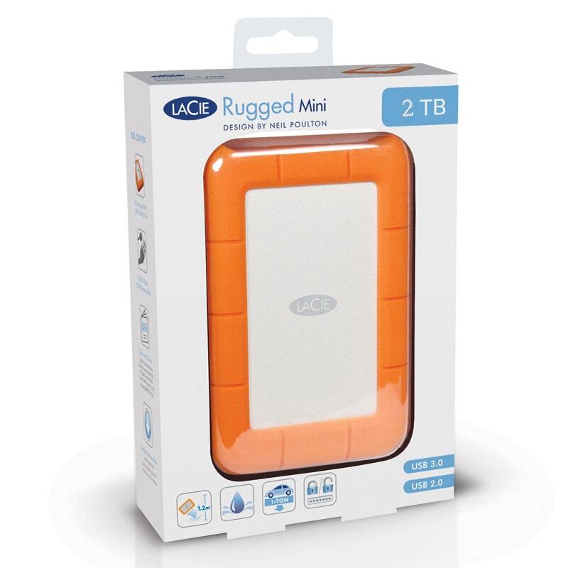 Shunfeng LaCie Laith RuggedMini Pathfinder 2tb, disque dur mobile 2,5 pouces 9000298
