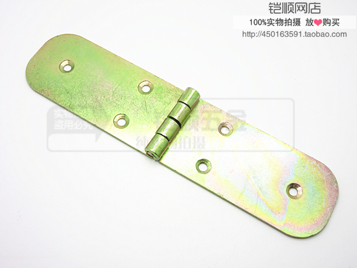 Thickening type large iron plating color turning plate hinge table hinge furniture hinge folding desktop hinge