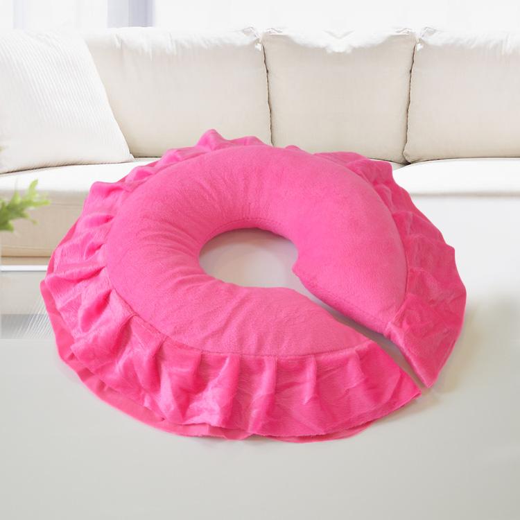ベッドに腹ばいに伏せて美容枕枕枕ベッド面美容院専用マッサージ洗い張りU型枕顔パッド