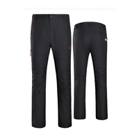 Camel/ camel outdoor men's pant pants men's windproof waterproof warm pants A6W218126