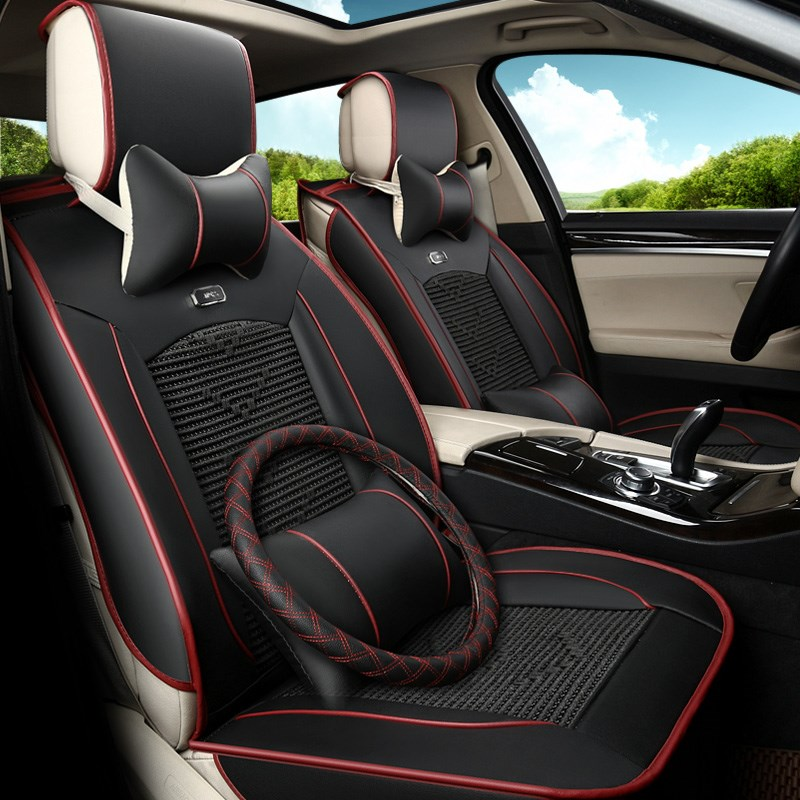 A new car seat 12V ice wind summer ventilation and air conditioning refrigeration fan vehicle seat cushion