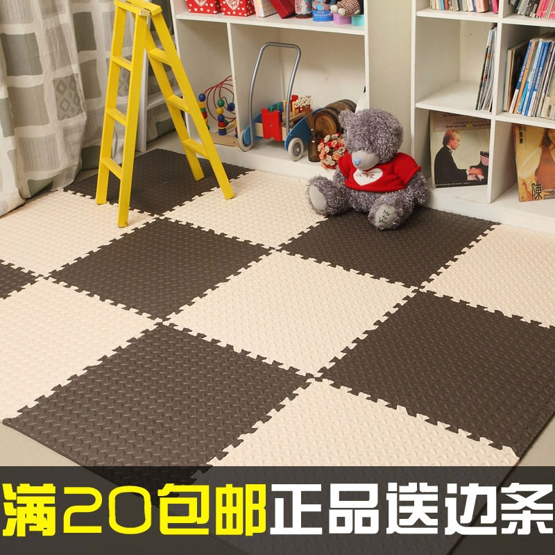 Children bedroom floor mats puzzle 6060 large tatami mat household thickened crawling stitching