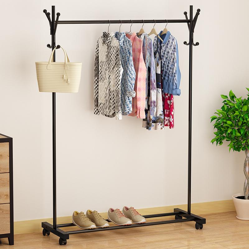посадку вешалка один род типа бельевой род крытый простой вешалка бытовой спальня одежду полки складные вешалку
