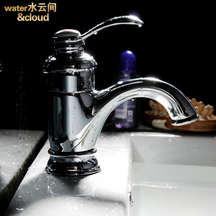 単孔の暑さを全銅単セラミックパーティラインバスの洗面器の洗面器冷熱蛇口