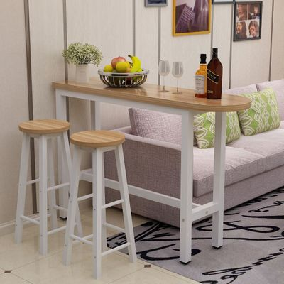 Bar Tables and Chairs Home Living Room Simple Round Tables and Chairs Combination