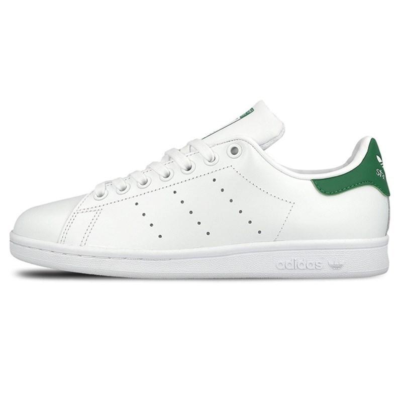 Adidas клевер мужские ботинки StanSmith Смит M20324 классический Джокер зеленый хвост обуви