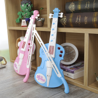 Violin, children's simulation instrument toys, playing electric violin for children