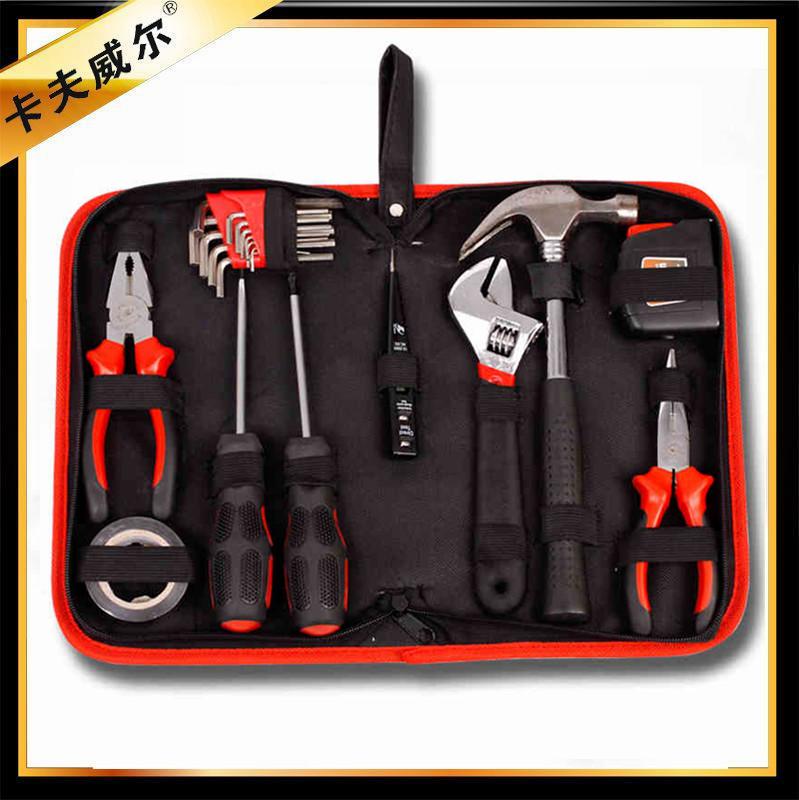 Set di strumenti 21 Pezzi di stoffa per uso domestico, A Casa di manutenzione fissa la combinazione di strumenti Elettrici