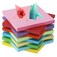 Shipping children handmade paper color origami origami material 15x15cm10 color paper-cut paper-cut children's book
