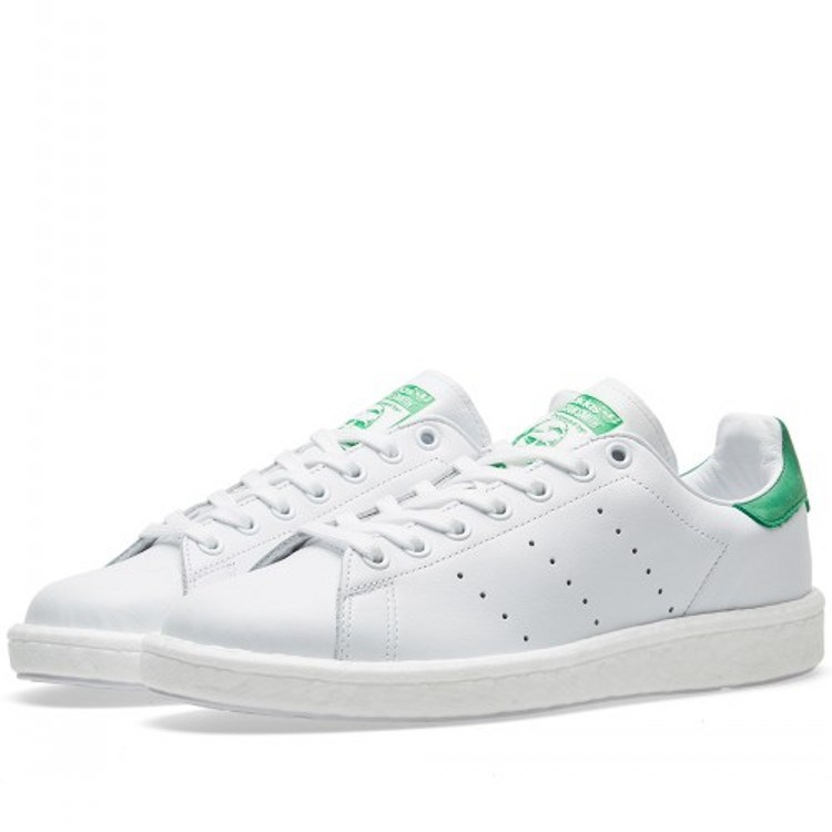Adidas Shamrock StanSmithBoost di Smith green tail men and women casual shoes BB0008
