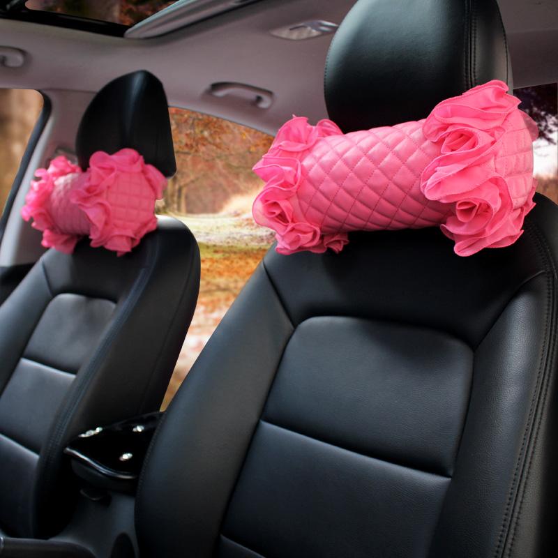 枕枕靠垫護首さん可愛い個性クッション頚枕腰枕四季車で車用ヘッドレスト自動車
