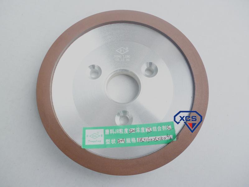 三孔皿形ダイヤモンド樹脂砥石125 *じゅうろく* 25 *じゅう*さんディスクホイール片磨タングステン鋼の砥石