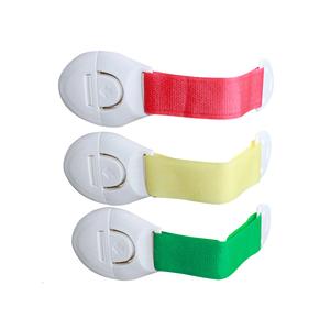 10个装儿童抽屉锁安全锁扣宝宝安全防护冰箱锁对开柜门橱柜锁包邮