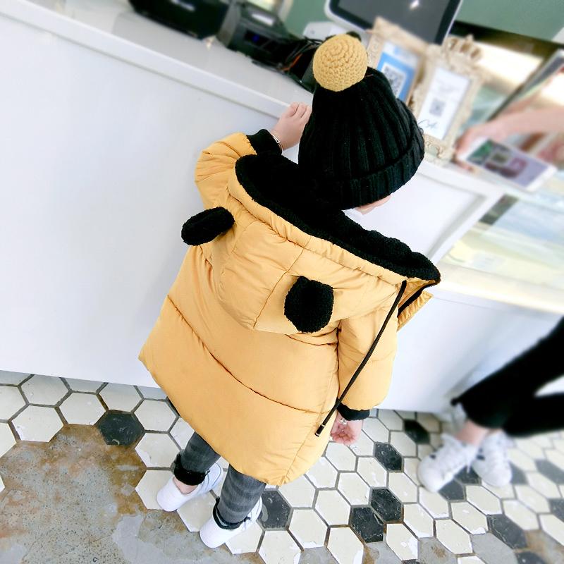 宝宝冬季棉衣外套男童棉服女童棉袄婴幼儿童冬装加厚上衣1-2-3岁
