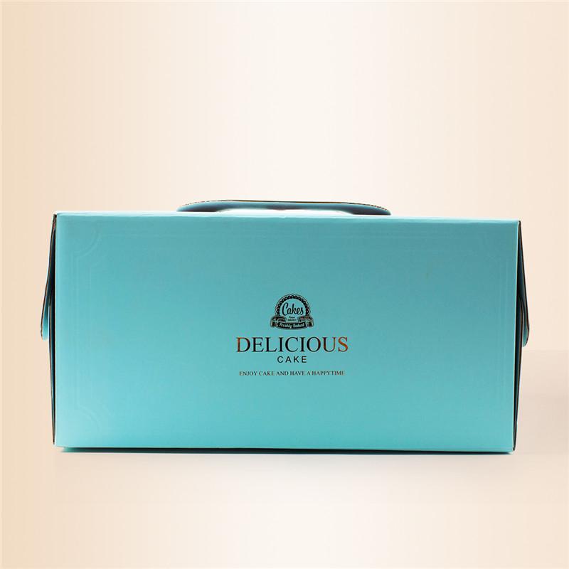10 - дюймовый Оти портативный торт Уэст - Пойнт, коробка печенья ящик коробки бумажные стаканчики отправить снизу