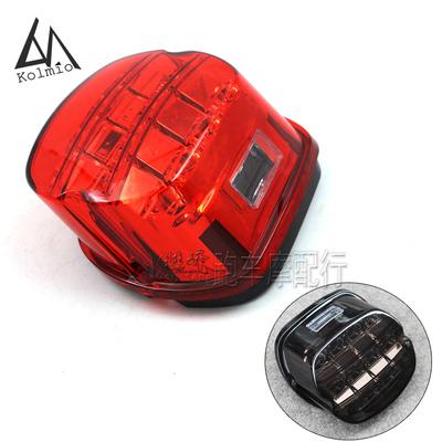 哈雷XL883/XL1200大滑翔/戴娜/路王适用摩托车改装LED后尾灯刹车