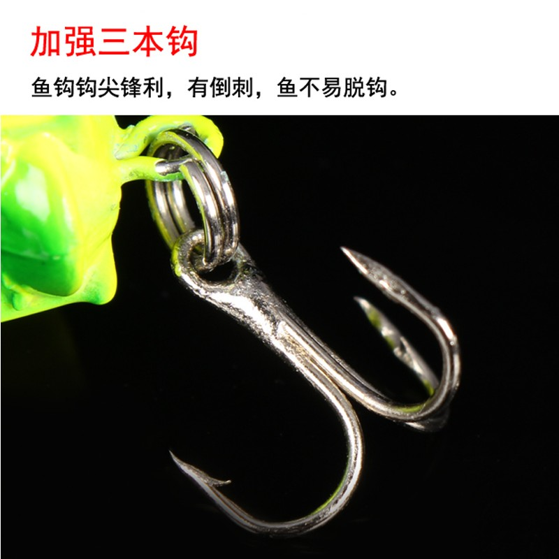 The insect lures Mino bionic grasshopper cricket locust bait freshwater herring grass bait bait culter perch