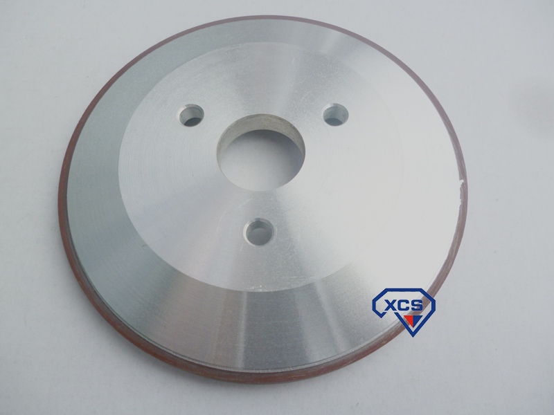 * 3 125 plato Diamante de resina de rueda 16 * 25 * 10 * 3 disco de la muela de rueda de molino de carburo de tungsteno
