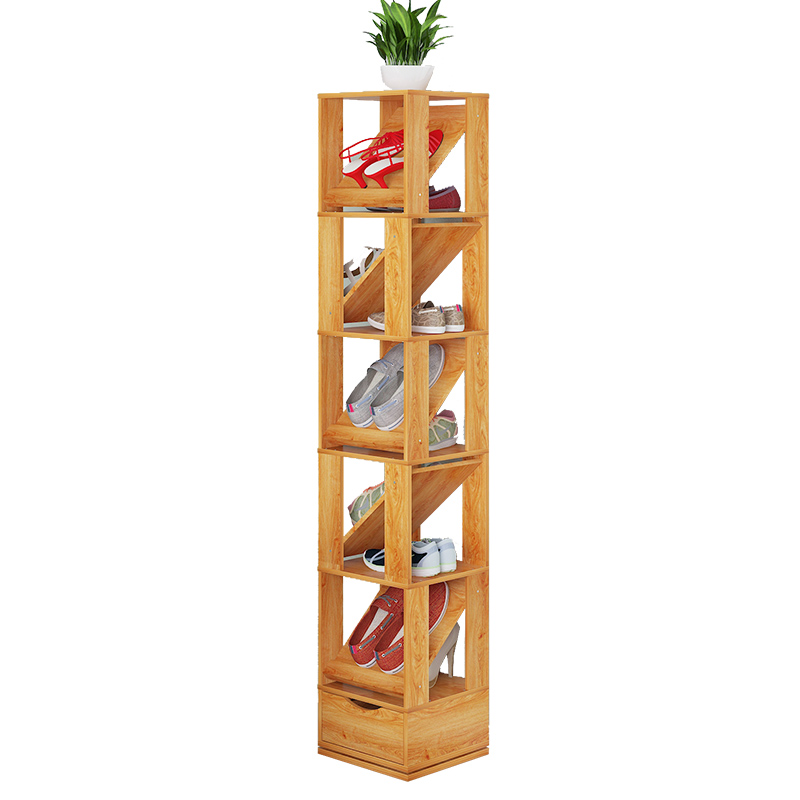 La residencia hogar simple zapato tipo Salón especial de la economía moderna y simple polvo multifuncional de montaje multicapa de zapato