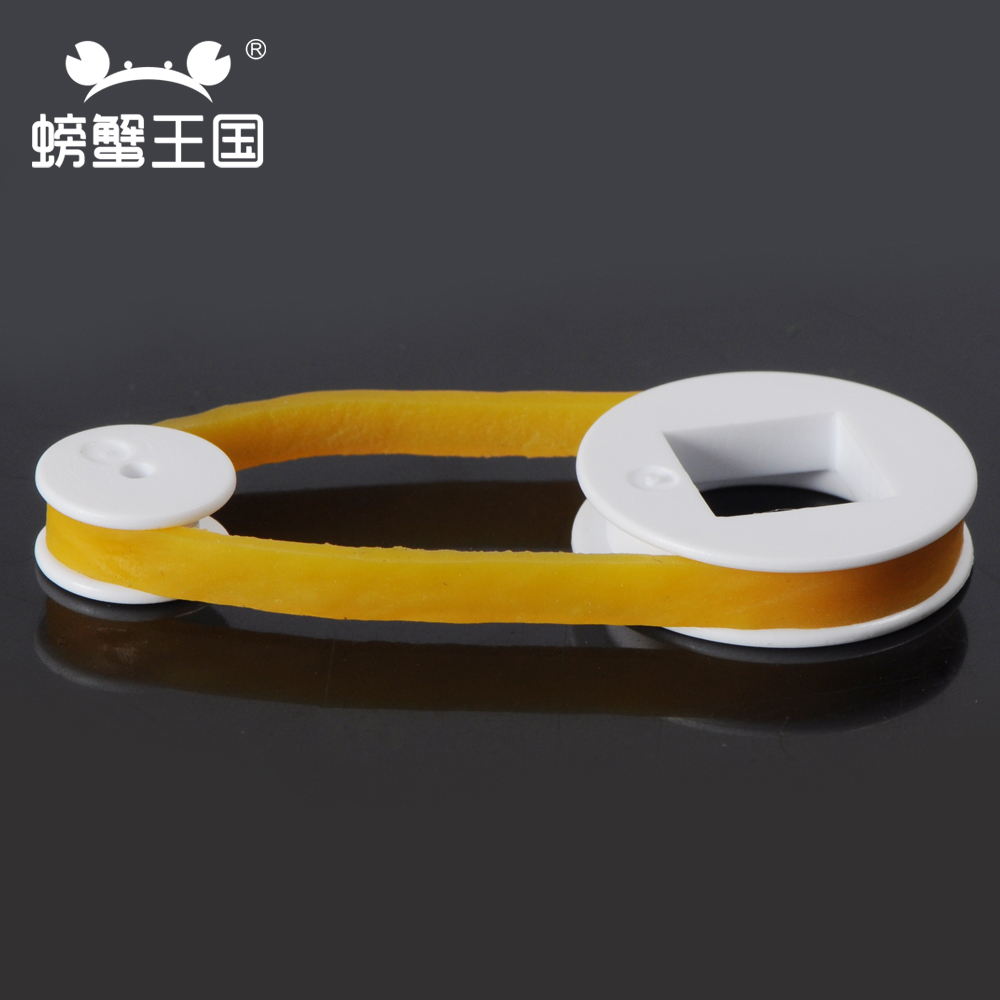 POM plastic pulley, toy model, transmission wheel, single groove pulley, fixed pulley, movable pulley, small making material
