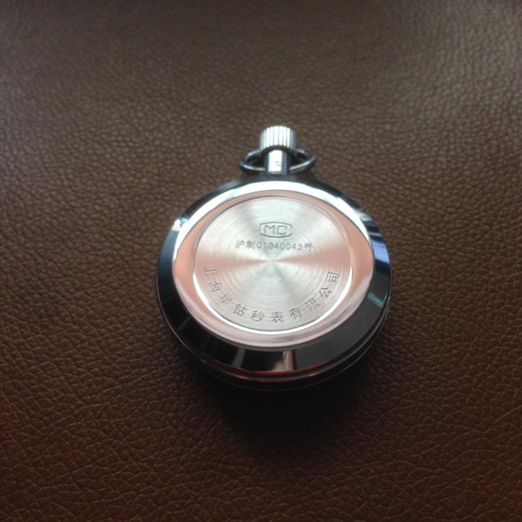 Echte diamanten mechanische stopwatch M-504 Shanghai diamanten van de mechanische stopwatch voor de sport.
