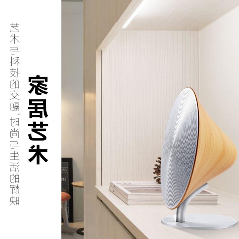 Madera de casa de arte Caja Subwoofer inalámbrico Bluetooth 4.0 táctil portátil de audio mini adornos